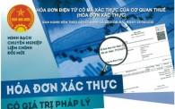 Tính pháp lý hóa đơn điện tử xác thực và một số lưu ý đối với khách hàng