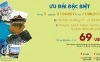 Vietnam Airlines khuyến mãi mùa thu đi Quốc tế