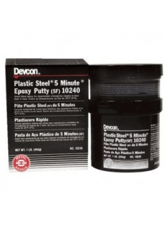 Plastic Steel 5 Minute Putty (SF) - 10240