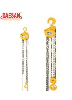 Pa lăng xích kéo tay Daesan 15 tấn 3.5 m