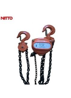 Pa lăng xích kéo tay Nitto 20 tấn 10 m